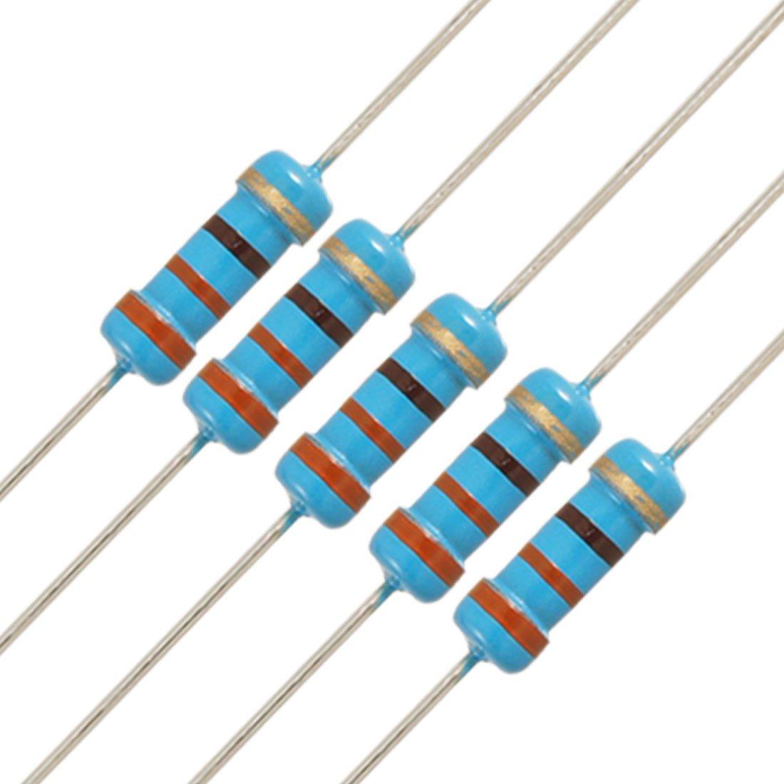 uxcell 20pcs 1 2W Watt 330 Resistor Film Brand new Ohm 330R Max 86% OFF Carbon 0.5W