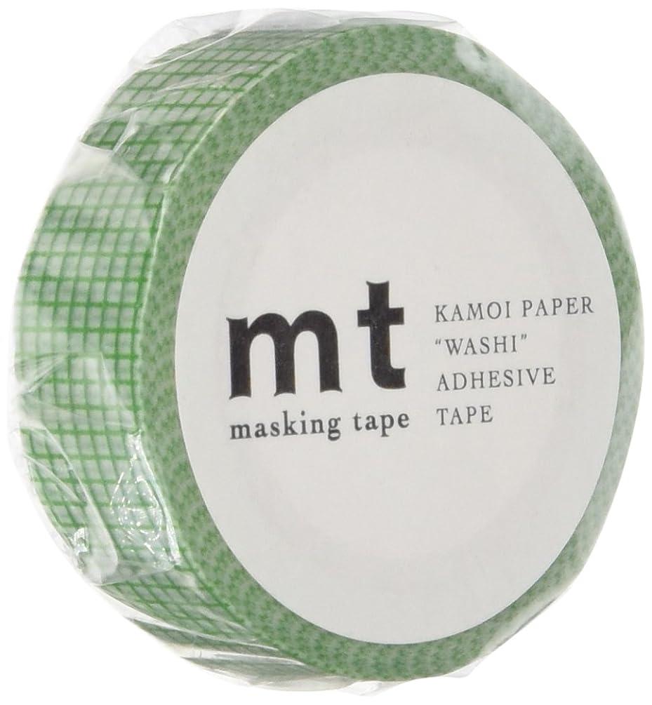 MT Washi Masking Tape, 1P Deco, 15mm x 10m, Grid Grass (MT01D265)
