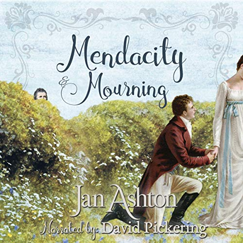 Mendacity & Mourning audiobook cover art