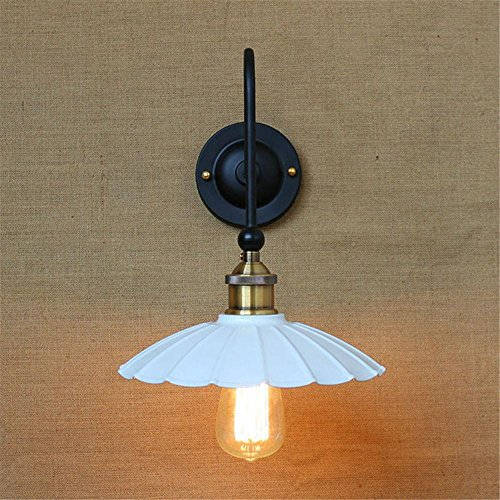 NIHE E27 éclairage européen lampe murale salon rétro minimaliste chambre fer forgé antique créatif industrie lampe de chevet