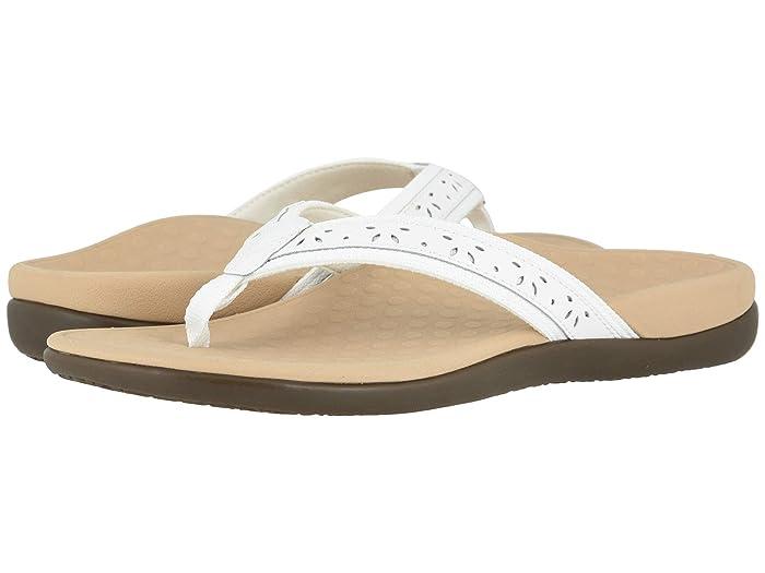 VIONIC  Casandra (White Leather) Womens Shoes