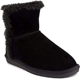 Sugar Women's Poppy Slip On Winter Boots Warm Winter Booties Black 7