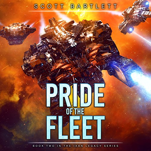 Pride of the Fleet audiobook cover art