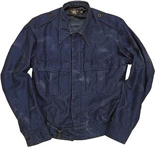 (ダブルアールエル) RRL 日本製生地使用 本藍染め インディゴ スーベニア ジャケット 刺繍 メンズ Embroidered Jacket 並行輸入品 [並行輸入品]