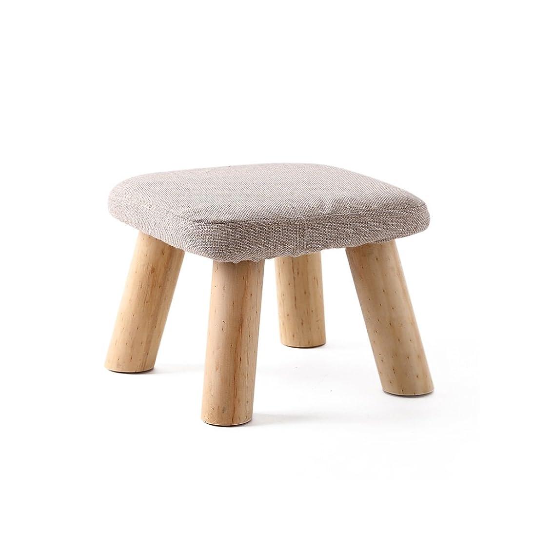 フリル文明化する圧縮キッズスツール Baffect 木製子供椅子チェア 完成品 天然ブナの木製 木目調 耐荷重200kg キッズ家具?ベビー?子供部屋?和風室に合わせ (グレー)