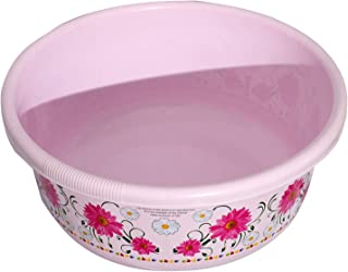 Heart Home Unbreakable Plastic Multipurpose Bath Tub/Washing Tub 40 Litre (Pink) - CTHH18108