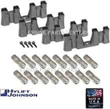 HYLIFT Johnson USA-Made Roller Lifters & TRAYS & BOLTS for Chevy 5.3 5.7 6.0 NON-AFM LS1 LS2 LS3 LS7 (Lifters & Trays)