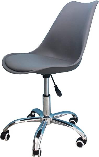 办公椅学生书桌可升降站立桌子写字桌转椅床头桌结实现代时尚家用办公室卧室椅子更新灰色