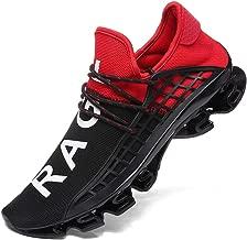 XIDISO Mens Running Shoes Womens Slip On Blade Mesh Fashion Men's Sneakers Athletic Tennis Sports Cross Training Casual Walking Shoe for Men