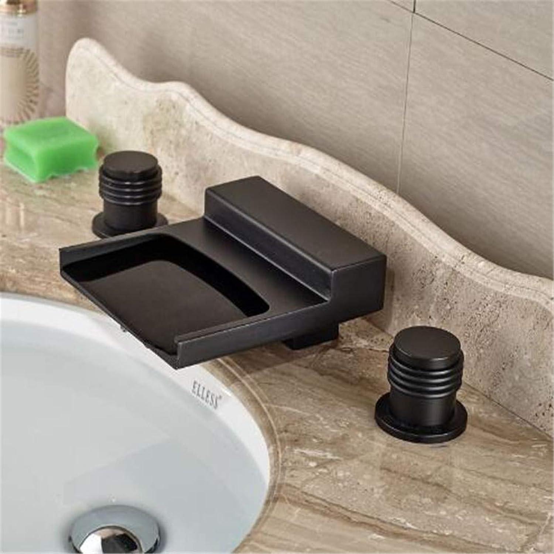 Wasserhahn Waschtisch Armatur Badarmaturen Küche Armaturl Eingerieben Broze Becken Tap Deck Montiert Waschtischarmatur Hot & Cold Wasserhahn