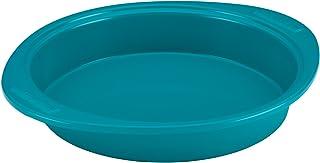SilverStone 59167 Hybrid Nonstick Baking Pan / Nonstick Cake Pan, Round - 9 Inch, Blue
