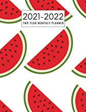 Two Year Monthly Planner 2021-2022: Watermelon Planner 2021-2022 , 24 Months Planner | 2021-2022 Monthly Planner 8.5 x 11 ...