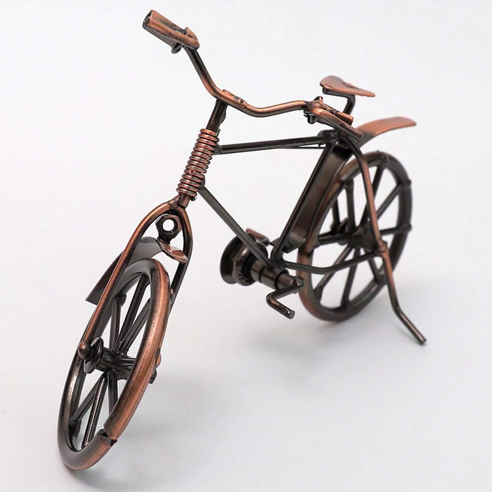 MAFYU Bicicleta Vintage Vintage modelo adornos Metal Artesanía ...