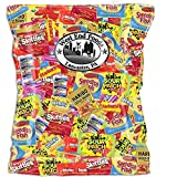 Bundle of Bulk Candy Assortment 5.75 Pounds (92 oz) Variety Pack Individually Wrapped Candy: Swedish Fish, Twizzlers, Nerds, Sour Patch Kids and Many More