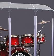 Drum Shield, Drum Shields, Drum Sceen 6 ft x 12 ft DS6D with Flexible Hinges