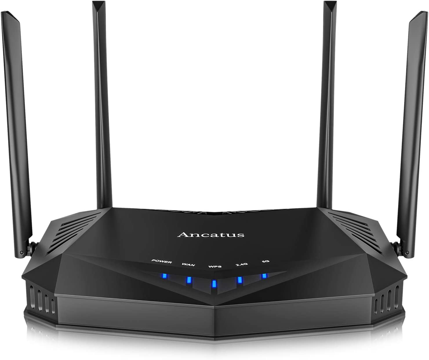 Ancatus-WiFi 6 Router AX1800 Houston Mall Max 80% OFF 1.8G WiFi Gigabi Dual Band