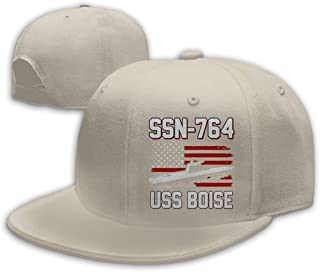 ZHENGLONGping5 SSN-764 USS Boise Flat Bill Baseball Cap Snapback Hat Baseball Hat