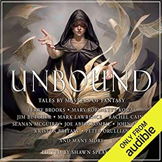 Unbound                   By:                                                                                                                                 Shawn Speakman                               Narrated by:                                                                                                                                 Dick Hill,                                                                                        Tim Gerard Reynolds,                                                                                        Nick Podehl,                   and others                 Length: 20 hrs and 55 mins     136 ratings     Overall 4.3