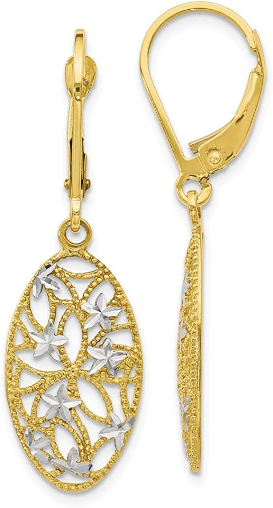 FB Jewels Solid 10K White Max 52% OFF and Diamo Yellow Tone Gold Two Rhodium Selling rankings