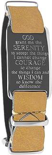 داكوتا سوار جلدي ملتف مع لوحة هوية الصلاة