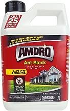 AMDRO Ant Block Home Perimeter Ant Bait Granules - Outdoor Ant Killer - 24 oz