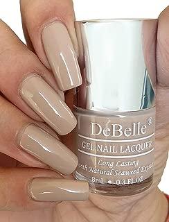 DeBelle Gel Nail Polish Victorian Beige (Beige Nail Polish) - 8ml