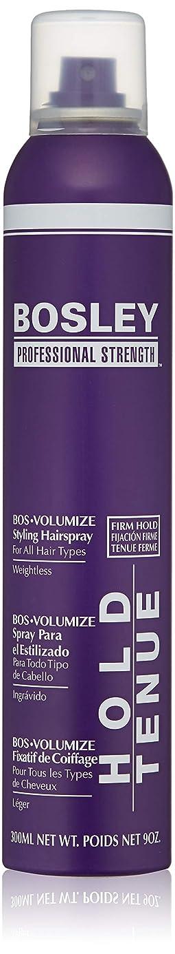 バルセロナスポーツマン直接Bosley Volumizing and Thickening Styling Hairspray, 9 Ounce