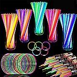 TURNMEON 500 Glow Sticks Bulk Party Favors,Halloween Glow In the Dark Party...