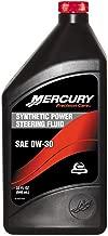Mercury/Quicksilver 92-858077K01 Synthetic 0W30 Power Trim & Steering Fluid 32 OZ. Qty: 1