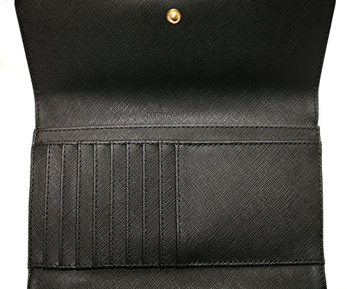 Michael Kors Women's Jet Set Travel Large Trifold Wallet 4