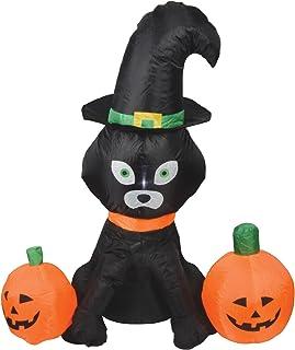 QTX | Inflatable Cat & Two Pumpkins