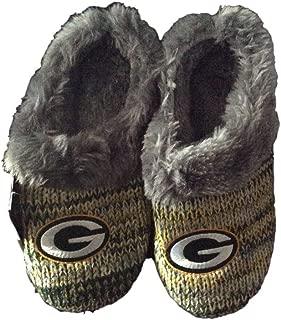 FC Green Bay Packers Womens Peak Slide Slippers (Large)