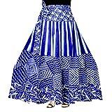 Trendy Fab Women's Cotton Jaipuri Print Wrap-Around Skirt (Multicolor,Free Size)