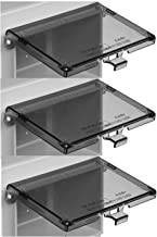 iMBAPrice DBHC-1 (3-Pack) -1 Extra Duty Replacement In-Use Cover for Arlington DBHS1C/DBHM1C/DBHR1C/DBHR131C/DBHB1C 1-Gang (Horizontal) in Box Electrical Outlet Box - Clear