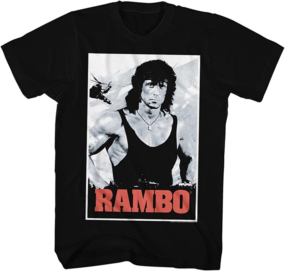 American Classics Product Rambo 1980s Action Thriller gift Po War Movie