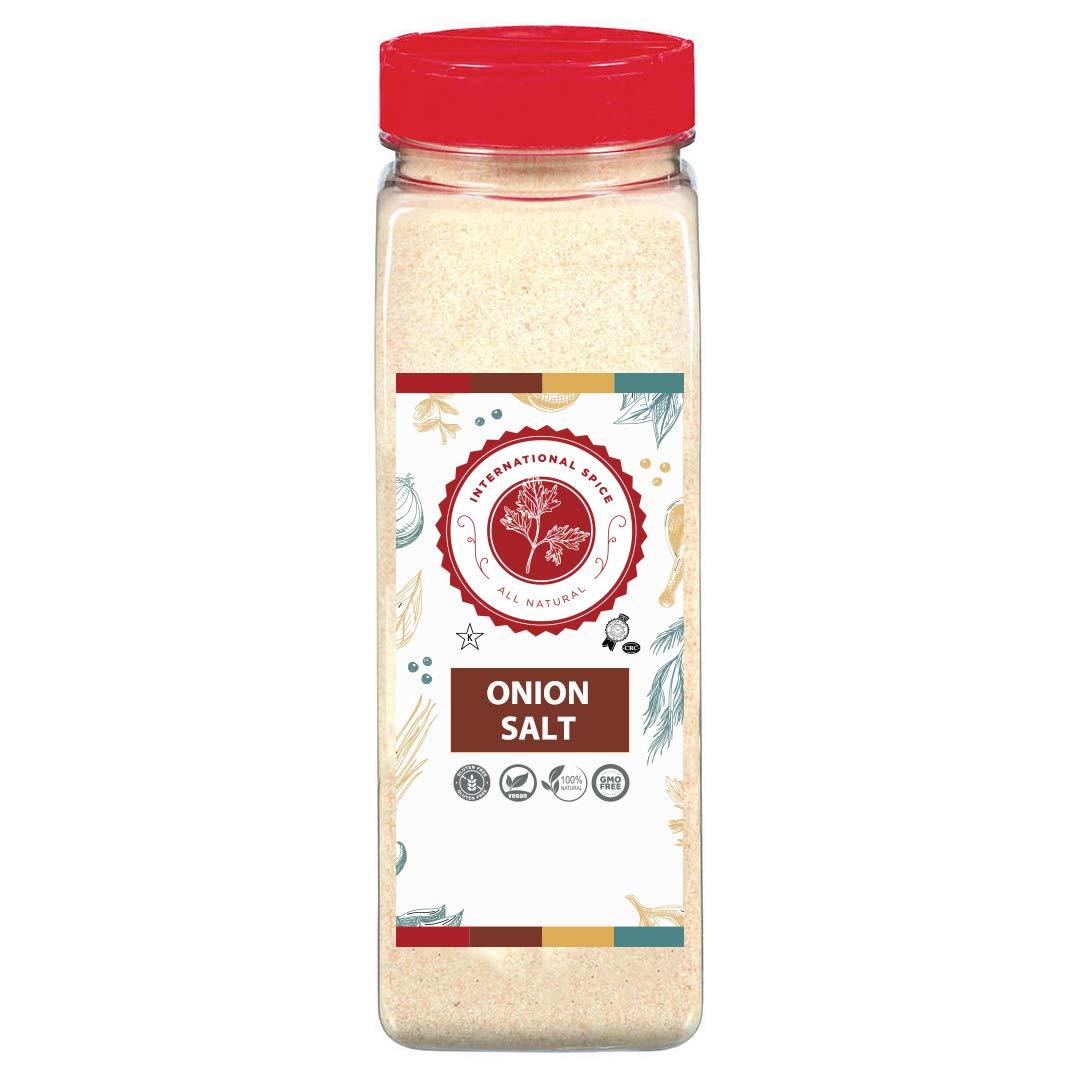Onion Salt - Restaurant Quality - 32 Ounce Bottle