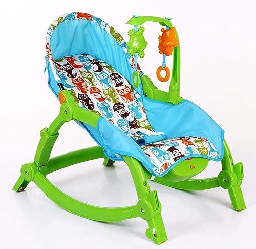 salida de fábrica NuoEn Silla mecedora de bebé, bebé, bebé, sillas de oscilación del recliner eléctrico vibración calmante Niño coax dormir artefacto coctelera  autorización