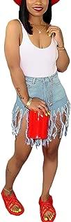 Best denim shorts with tassels Reviews