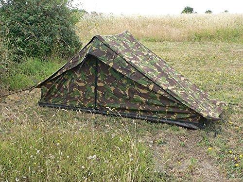 Dutch Army Surplus Niederländischen Armee Ridge Zelt–DPM–verwendet, Stufe 1