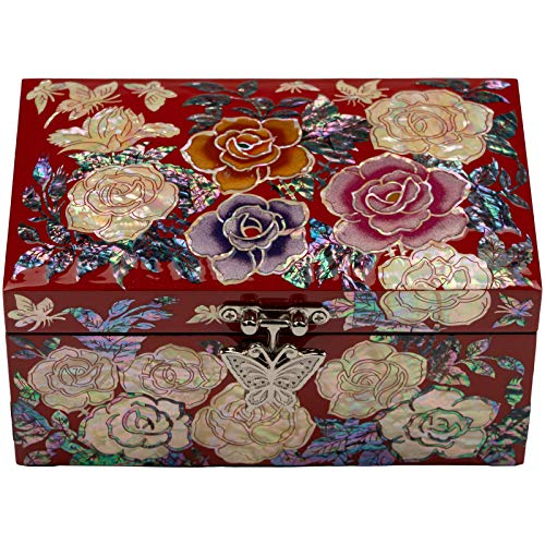 February Mountain Mother-of-Pearl Jewelry Box