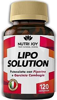120 Compresse   LIPO SOLUTION   Potente e Veloce   MADE IN ITALY   Drenante Naturale   100% Vegano