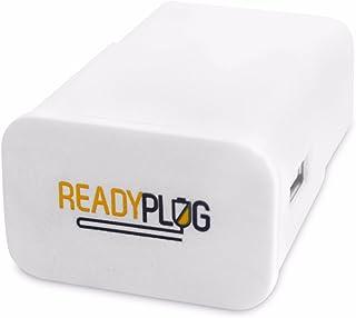 ReadyPlug USBの壁充電器: RAVPowerユニバーサルパワーバンク旅行充電器rp-pb054(ホワイト、2インチ)