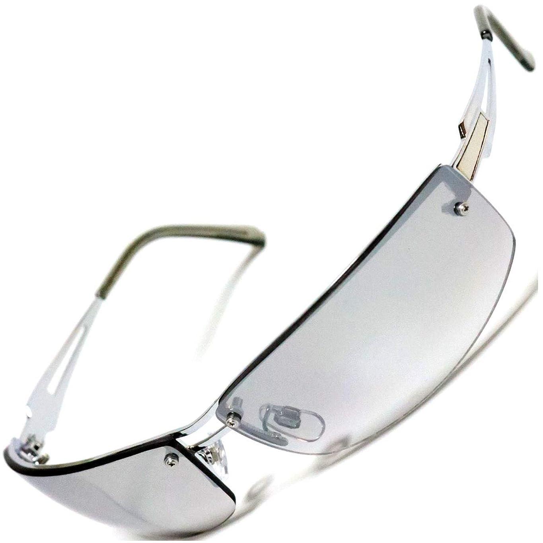 最大限導出満足させる[Berkut] オリジナル【オリジナルデザイン】サングラス 細フレーム いかつい オラオラ系 目にやさしい 伊達メガネ 1040201