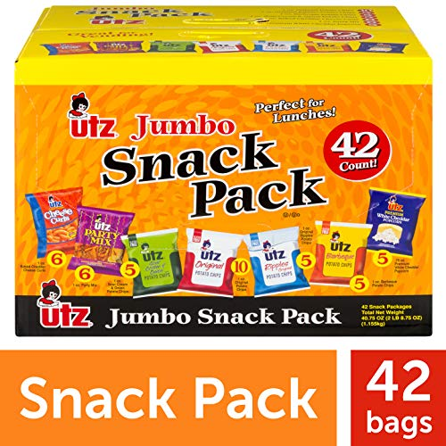 Utz Jumbo Snack Pack Order Online with Free Shipping!