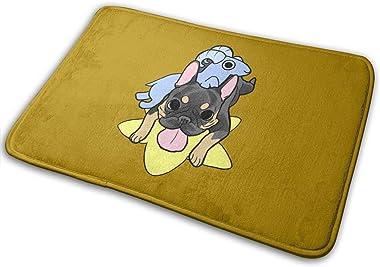 Sheep and Dog Jokes Carpet Non-Slip Welcome Front Doormat Entryway Carpet Washable Outdoor Indoor Mat Room Rug 15.7 X 23.6 in