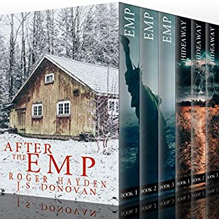 After the EMP: Survival in a Powerless World Boxset                   By:                                                                                                                                 J. S. Donovan,                                                                                        Roger Hayden                               Narrated by:                                                                                                                                 Cheyrl May,                                                                                        Ramona Master                      Length: 27 hrs and 5 mins     24 ratings     Overall 3.6