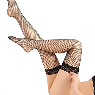 Calcetines Mujer Redes Medias Otoño Invierno Muslo Medias Overknee Medias Estilo Simple Pantimedias