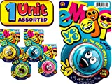 JA-RU Magic Emoji Yo-Yos for Kids Variety Party Pack (1 Unit Assorted) Emoji Faces Pro Yoyos for Kids Boys & Girls. Emoji Party Favors in Bulk Party Supplies. Yo Yos. 4661-1A