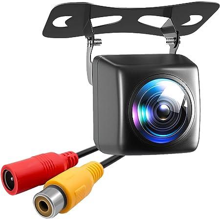 バックカメラ 夜でも見える 高画質 超暗視機能 バックモニター 車載 リアカメラ 魚眼レンズ 広角170° MAYOGA 防塵 防水IP67 超小型 リアビューカメラ 高画質CMOSセンサー搭載 12V 角度調整可能 取付簡単 日本語マニュアル付き