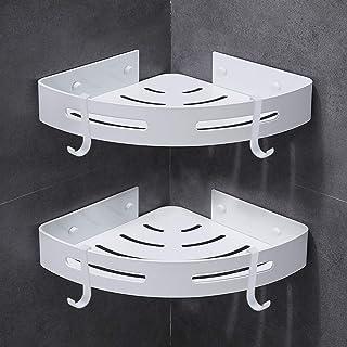 Gricol Bathroom Shower Caddy Corner Shelf 2 Pack